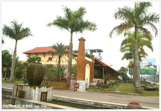 cong vao asean resort